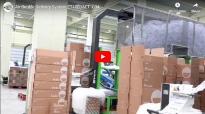 Air Cushion System working for General E-commerce