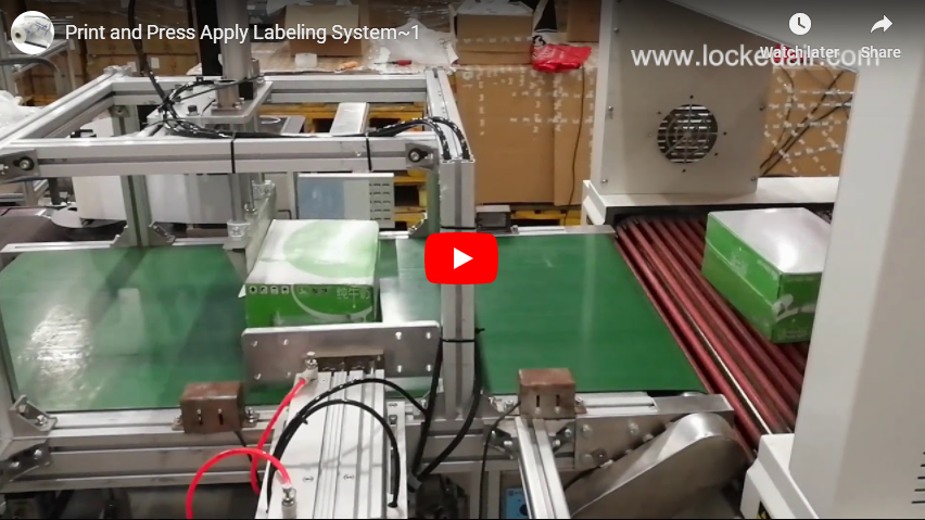 Print and Press-Apply Labeling System PLS540